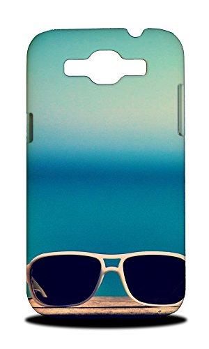 Foxercases Design Hipster Sunglasses Hard Back Case Cover for Samsung Galaxy Grand - Quattro Sunglasses