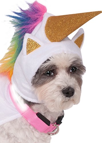 Rubie's Unicorn Cape with Hood and Light-Up Collar Pet Costume, Extra-Large by Rubie's (Image #2)