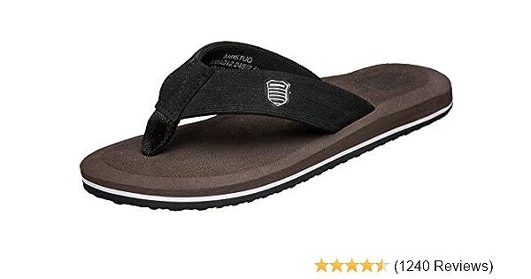8ca30c6b0c2e norocos Men s Sandals Light Weight Shock Proof Slippers Flip-Flops