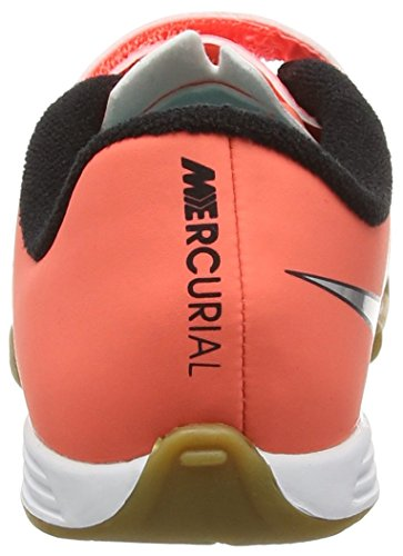 Enfant de Turquoise Nike Hyper Football II IC Bright Orange Metallic Mixte Silver Mercurial Vortex Chaussures Mango V pWrfpa