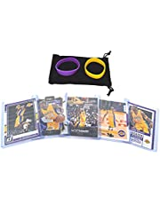 Kobe Bryant (5) Assorted Basketball Cards Bundle - Los Angeles Lakers Trading Card