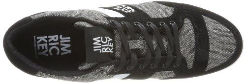 Jim Rickey Carve Lo Tweed - Zapatillas de Deporte de tela hombre negro - Noir (Black)