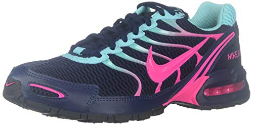 Nike Womens Air Max Torch 4 Running Shoe (9, Midnight Navy/Pink Blast)