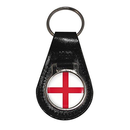 Porte clés De Angleterre Croix Motif 1stopshops Cuir En Georges St Drapeau aSpRxUq