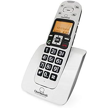 Amazoncom Clarity XLC34 Severe Hearing Loss Ampified Cordless