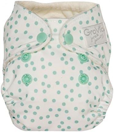AIO GroVia Newborn All in One Snap Reusable Cloth Diaper