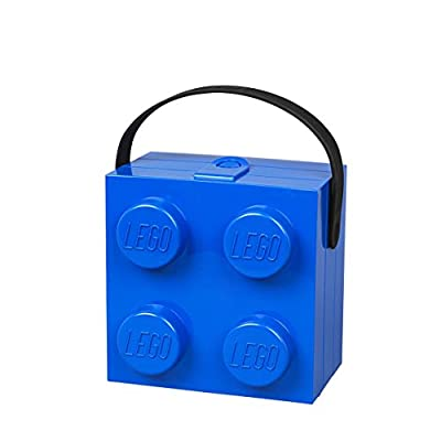 LEGO 40240602 Lunchbox with Handle, Bright Blue: Toys & Games