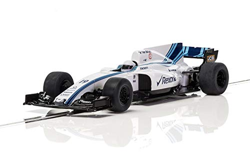 (Scalextric Formula One World Championships Williams FW40 Car 2017 1:32 Slot Race Car C3955)