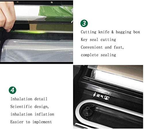 Passez l'aspirateur Scellant Machine professionnelle, vide Scelleur Machine for sec et humide aliments Conservation automatique à vide d'étanchéité DDLS