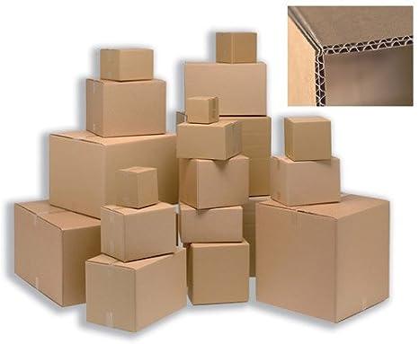Ambassador Wall Carton - Paquete de 15 cajas de cartón, marrón: Amazon.es: Oficina y papelería