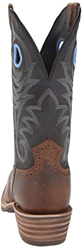 Ariat Mens Heritage Roughstock Western Boot Earth / Vintage Black