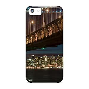 Mycase88 KgK25862CIgz Cases Covers Skin For Iphone 5c (the Sf Bay Bridge)