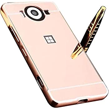 Amazon.com: ZTE Blade V7 Max Mirror Case, Shiny Awesome Make ...