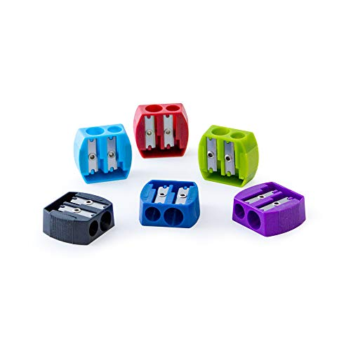 It's Academic 2-Hole Pencil Sharpener, Pack of 144