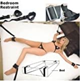 Clearance Sale Fuzzy Under Bed Sex Bondage Leg Restraint Harness Straps Handcuffs Ankle Cuffs Set Adult Fetish Game Toy Kit for Women Couples