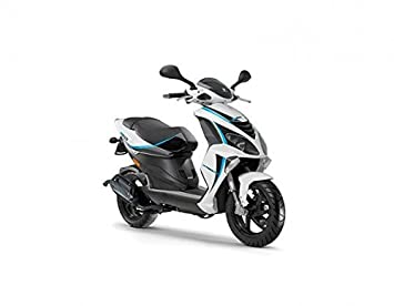 Piaggio Nrg Power 50 DT, colores: grigio Titanio 742/B: Amazon.es: Coche y moto