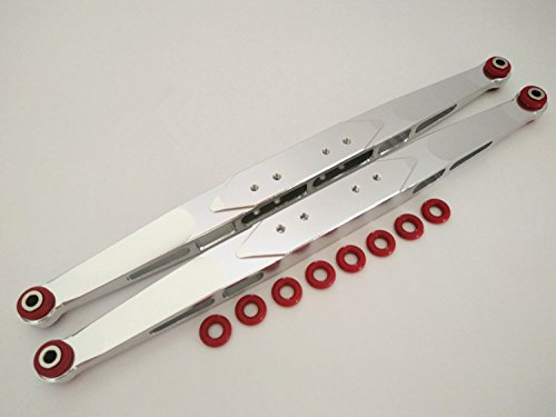 Aluminum Rear Trailing Arms Linkage Silver For TRAXXASSS Unlimited Desert Racer UDR 8544 CrazyRacer