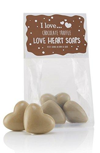I Love… Chocolate Truffle Love Heart Soaps Gift Set