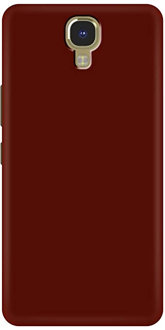 official photos 12af4 e7ffc Fashionury 360 Degree Matte Velvet Hard Plastic Cover for INFINIX NOTE 4  (Red)