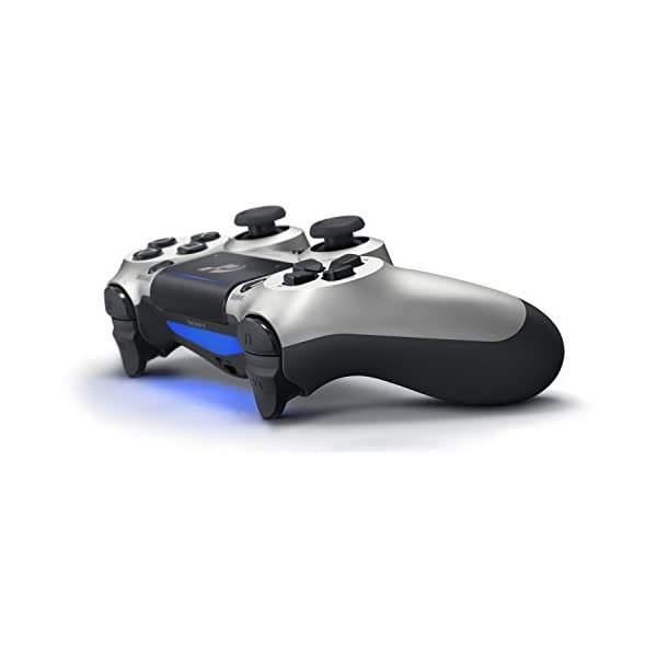 DualShock 4 Wireless Controller for PlayStation 4 - Silver GT Sport 2