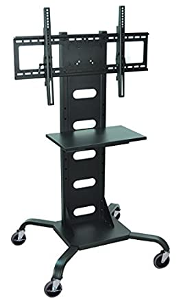 Luxor WPSMS51 – Mobile Flat Panel TV Stand and Mount