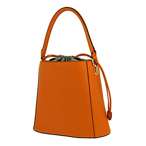 5948406528 Christian Laurier Gwen, Borsa a spalla donna arancione salmone ...