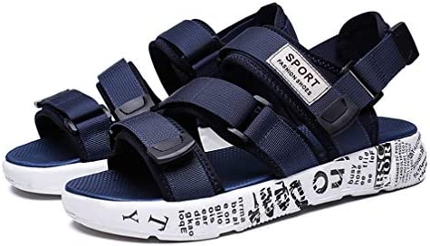 マジックテープ 厚底 スポーツ サンダル メンズ ビーチサンダル 通気 滑りにくい 軽量 メンズサンダル ベルト付き アウトドアサンダル スポサン ユニセックス 男性 ストラップ ベルクロ アウトドア カジュアルサンダル