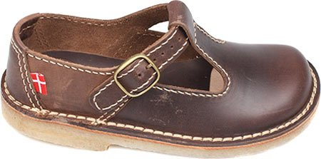 Duckfeet Lolland T-Strap Mary Jane 40 D EU / 9.5 D US Women / 8 D US Men|Cocoa Leather