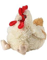 """warmies Warmtekussenknuffeldier""""kippen"""" herten lavendelvulling 25 cm 700 g, wit"""