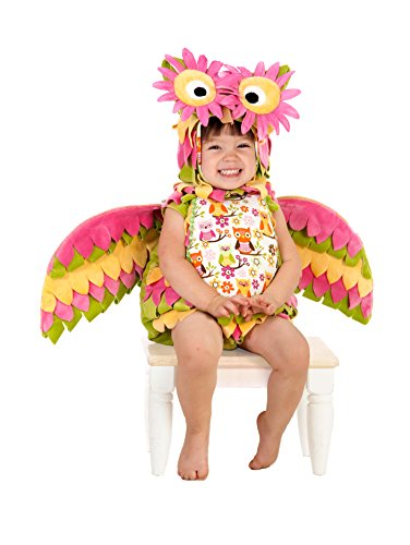 Pink Flower Toddler Costumes (Princess Paradise Baby Hootie the Owl, Multi, 18 to 24 Months)