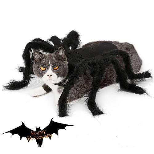 Spider Costume For Dogs - CheeseandU Pet Spider Halloween Costume 2019