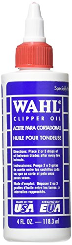 Wahl Pro-wahl Clipper Oil For Hair Trimmers And Clippers - 118.3ml (Original Version)