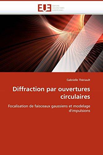 Diffraction par ouvertures circulaires
