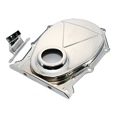 - Assault Racing Products A9392SET Big Block Chrysler/Plymouth/Dodge Chrome Timing Cover with Tab BBM 383 426 440