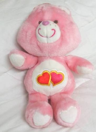 Vintage Care Bears -Love-a Lot plush Bear