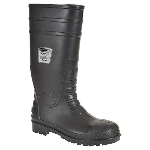 Portwest Steelite Total Safety Wellington S5 - zapatos de seguridad para hombre negro