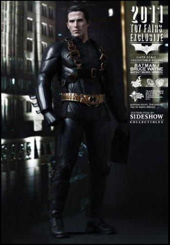 Hot Toys Sideshow Toy Fair 2011 Batman Begins Bruce Wayne (Sideshow Hot Toys)