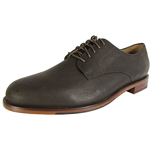 Cole Haan Hombre Carter Grand Plain Oxford Dark Roast Grain
