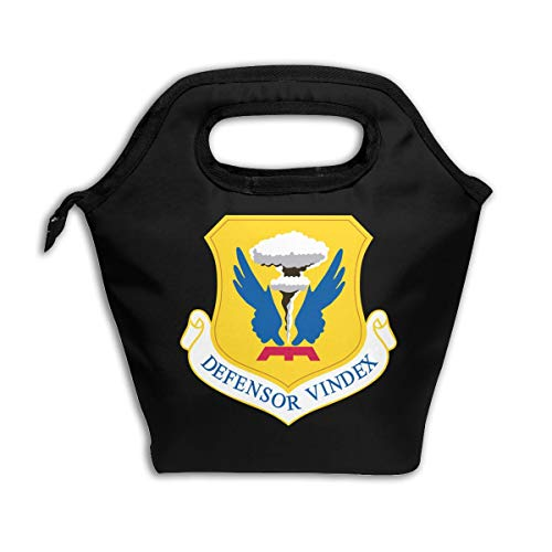 - LUNCHGOGO USAF 509th Bomb Wing Emblem Lunch Box Bag, Stylish Insulated Cooler Ice Lunchbox Tote Bag Handbag for Men Women Adult Kids