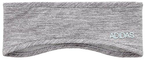 adidas Men's Heather Tech Headband, Grey/Clear Onix/Frozen Blue, One Size