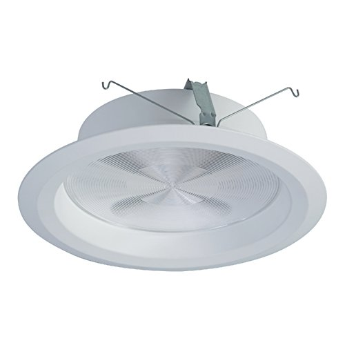 Halo Commercial PR8M12WDMW PR8 LED 8'' Integrated LED Recessed Trim Module Wide Distribution 1000/1500/2000 lms, White by Halo