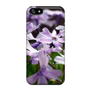 Awesome AZlSvLE4872fexlA DavidKearns Defender Tpu Hard Case Cover For Iphone 5/5s- Cute Little Purple Flowers