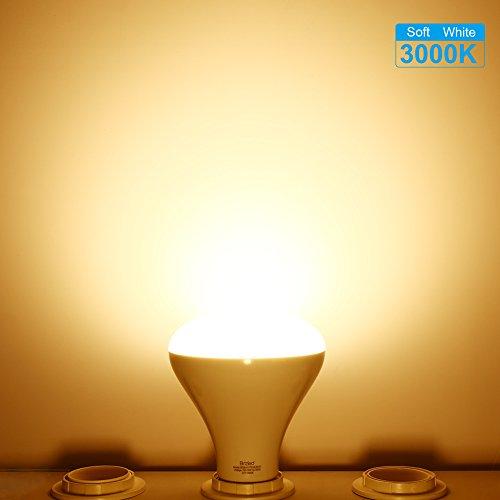 BrizLabs 6 Pack BR30 Recessed Light Bulbs, 11W Equivalent 75W LED Light Bulbs, 800 Lumens 3000K Warm White Flood Light Bulb, E26 Non-dimmable Indoor Light Bulbs UL Listed LED Bulbs for Basement