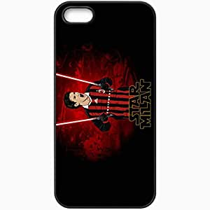 Personalized iPhone 5 5S Cell phone Case/Cover Skin Alexandre pato ac milan star wars vector normal Black by lolosakes