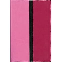 NIV, Busy Mom's Bible, Leathersoft, Pink, Red Letter Edition: Daily Inspiration Even If You Only Have One Minute