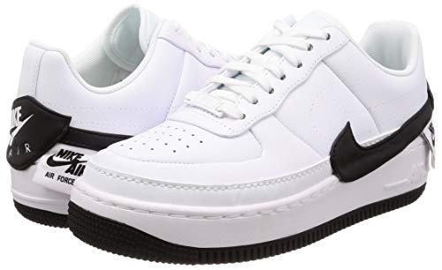 NIKE Scarpe Jester da Af1 Ginnastica Black W 102 White Bianco Donna XX Basse wFqrTnwg