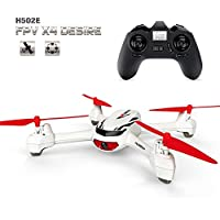 HappyCow Hubsan X4 H502E Desire GPS 2.4G 4CH 6 Axis RC Quadcopter Drone w/720P HP Camera, 4 Channel Transmitter, 6 Axis Quadcopter, Altitude Holding, Auto Return and More