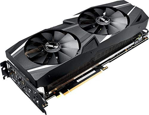 ASUS DUAL-RTX2080TI-A11G Graphics Card - Black