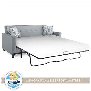 Amazon Snuggle Home Memory Foam Sleep Sofa Mattress QUEEN