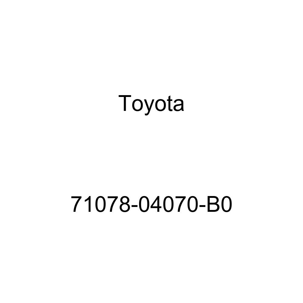 TOYOTA Genuine 71078-04070-B0 Seat Back Cover